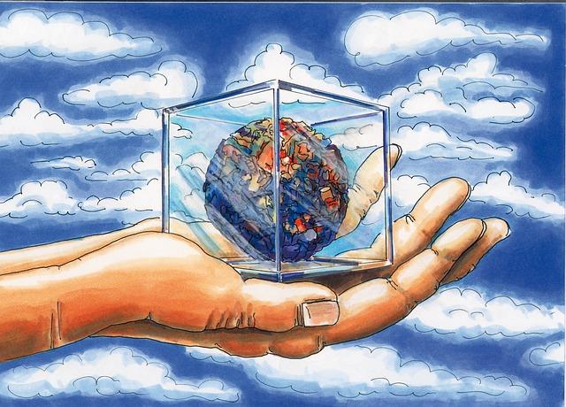 イラスト地球