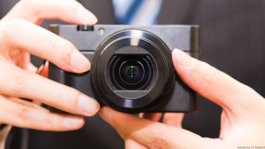 取材時のカメラ